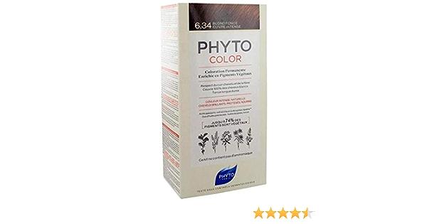 Phyto color 634 rubio oscuro dorado: Amazon.es: Salud y ...