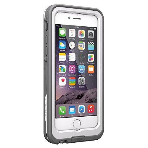 """Lifeproof FRĒ POWER iPhone 6/6s (4.7"""" Version) Waterproof Battery Case - Retail Packaging - BLACKTOP (BLACK/SLATE GREY)"""