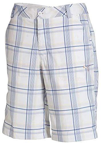 PUMA Golf Plaid TECH Short Junior-White-M -56066302
