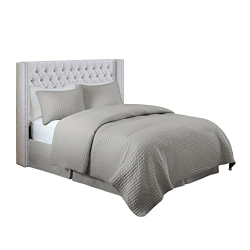 Madison Park MP116-0357 Solid Upholstery Headboard ()