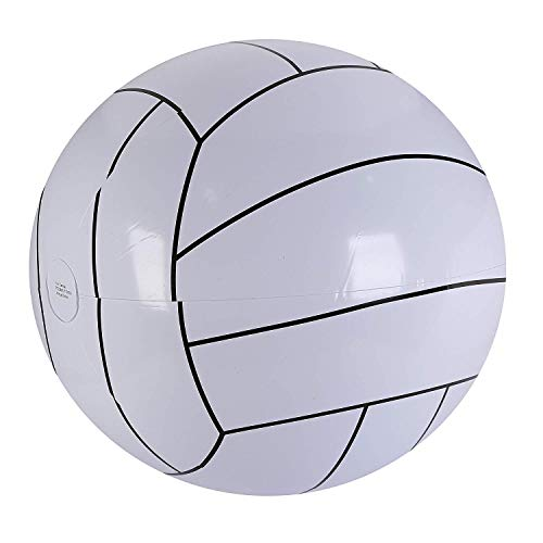 Fun Central BC550 1 Piece 32 Inch Inflatable Pool Volleyball, Inflatable Beach Ball, Inflatable Swimming Pool Toys - Perfect for Beach/Water/Pool Parties, Gifts