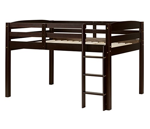 Concord T1302 Junior Loft Bed, Twin, Cappuccino