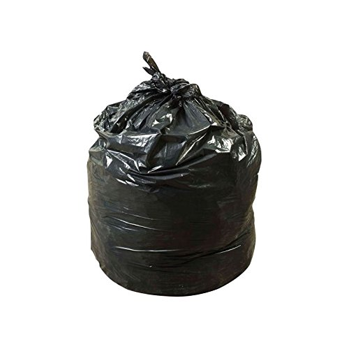Revolution Bag Hercules Recycled Low Density Can Liners, Glutton, 1.75 mil, Black, 43'' X 47'' - Case of 100