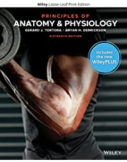 Principles of Anatomy and Physiology, WileyPLUS NextGen Card with Loose-Leaf Set Single Semester