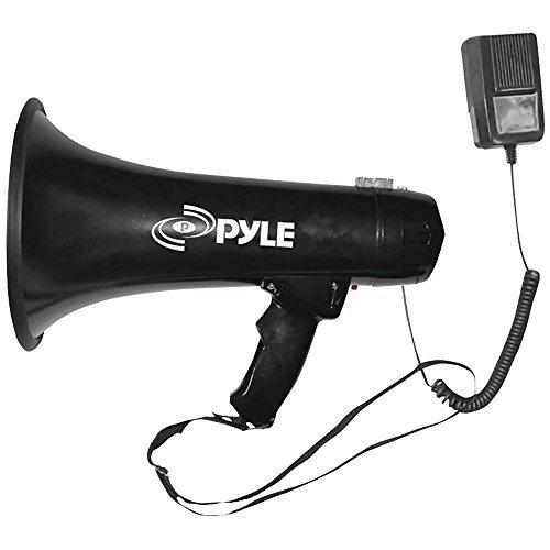 PYLE PRO PMP43IN 40-Watt Professional Megaphone/Bullhorn with Siren & Auxiliary Jack electronic consumer [並行輸入品]   B06XTDF61V