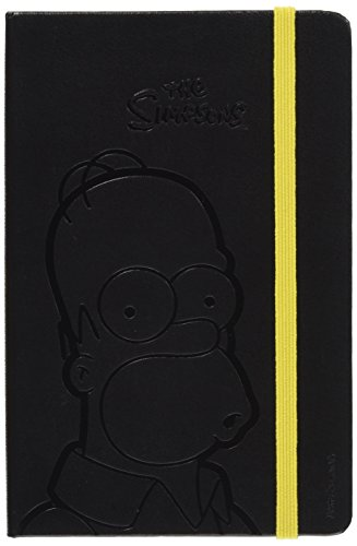 Moleskine The Simpsons Limited Edition Notebook, Pocket, Plain, Black, Hard Cover (3.5 x 5.5)