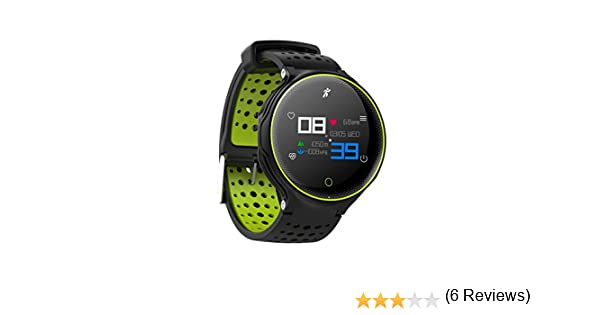 Parnerme Fitness Activity Tracker para natación Monitor de Ritmo Fitness Activity Tracker Watch IP68 Impermeable, Elegante Brazalete Deportivo Soporte App ...