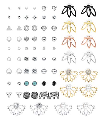 Hanpabum 35Pairs Assorted Multiple Earrings product image