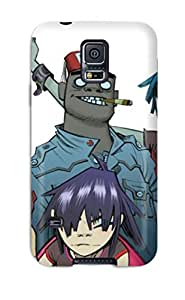 Everett L. Carrasquillo's Shop New Style durable Protection Case Cover For Galaxy S5(beautiful Gorillaz White)