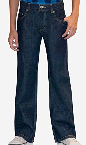 (Faded Glory Boys Skinny Jeans, Rinse Wash (14 Husky))