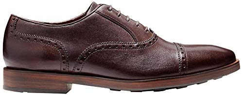 Cole Haan Mens Hamilton Grand Cap Toe Oxford 7.5 Dark Brown ()