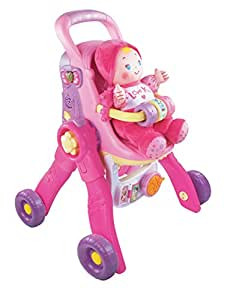VTech Baby Amaze 3-in-1 Care & Learn Stroller (Frustration Free Packaging)