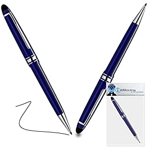 iTALKonline Acer M900Pro Captive Touch Tip Stylus Pen con punta de goma con bolígrafo Roller