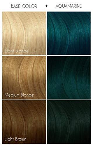 Arctic Fox Vegan and Cruelty-Free Semi-Permanent Hair Color Dye (4 Fl Oz, AQUAMARINE)
