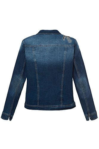 4dfcee7b0080 GINA LAURA Damen Jeansjacke 715480 Blue Denim WGRt1joIlm - rigorous ...