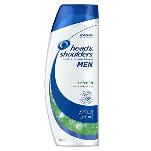 Head and Shoulders Dandruff Shampoo, Refresh, 23.7-Ounce Bottle