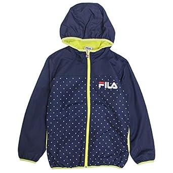 152f51ea9f1b1 FILA(フィラ) ウィンドブレーカー 女の子 裏フリース キッズ ジュニア 子供服 ネイビー 130cm