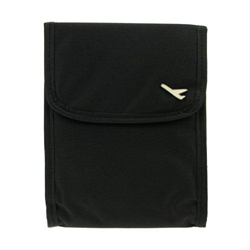 FakeFace Mini Multifunktion Schultertasche Crossbody Bag Reisetasche Handytasche Schlüsseltasche Münztüte Kleingeldbeutel Shopper für Reise Camping Outdoor Sport Wandern (Schwarz)