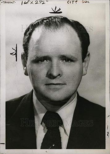 - Historic Images - 1954 Vintage Press Photo Al Leggat Manager Bridgeport Brass Co. - dfpd34095