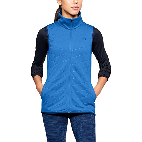 Under Armour Women's ColdGear Reactor Vest,Lapis Blue (984)/Lapis Blue, Medium