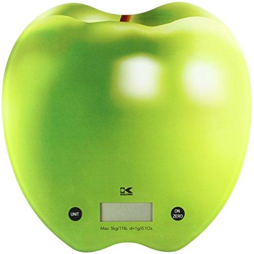 Kalorik EKS 42442 L Apple Kitchen Scale, Small, Green