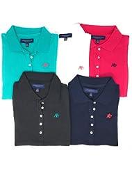 Aeropostale Womens Polo Shirt Set of 5