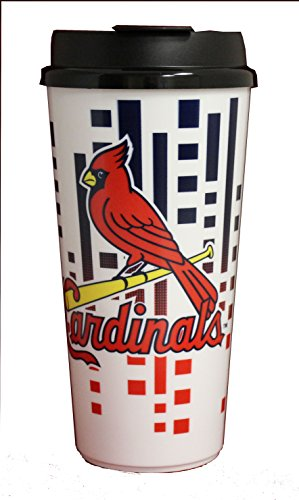 The Memory Company MLB St. Louis Cardinals Hype Travel Cup, (Louis Cardinals Mlb Tumbler)