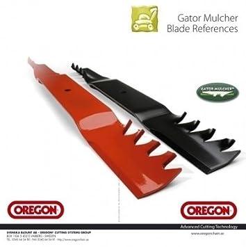 Oregon Cuchilla trituradora UNIVERSAL recto, diversos Grabaciones también MTD Cuchilla de cortacéspedes - 502mm: Amazon.es: Jardín