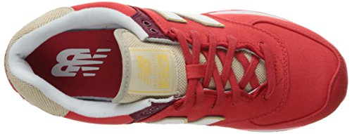 Homme Basses Sneakers New Ml574txd Red Balance WaqnItxfv4