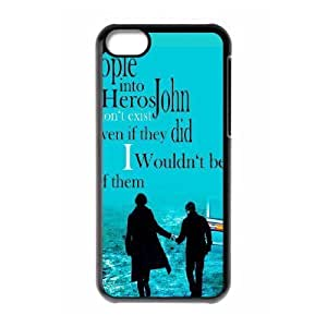 LJF phone case iPhone 5C Phone Case Sherlock F5H7659