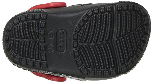 Crocs - Boys '- funlab Lumières Spiderman Clog, EUR: 22-23, Black
