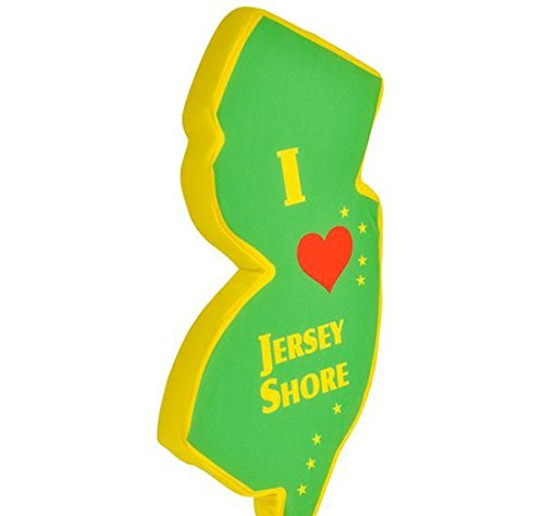 15'' I LOVE JERSEY SHORE PLUSH STATE, Case of 48