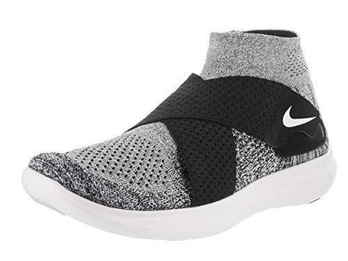 Simple Mens Nike Free RN Flyknit Running Shoes: WhitePure