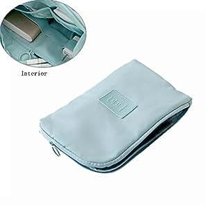 Amazon.com: Bolsa de almacenamiento portátil para cosméticos ...