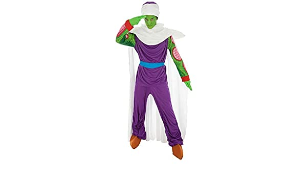 Disfraz Dragon Ball Piccolo 7tlg Verde púrpura - M: Amazon.es ...