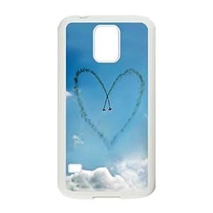 Custom Case Girly Hearts For Samsung Galaxy S5 Q3V932858