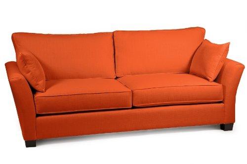 Loni M. Designs Cindy Sofa, Orange