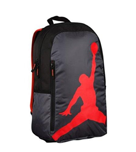 Nike Boy`s Air Jordan Iso Sac À Dos Gris Foncé