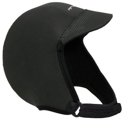 Hyperflex Wetsuits Men's Hood Squid Lid, Black, Large - Surfing, Windsurfing & Wakeboarding