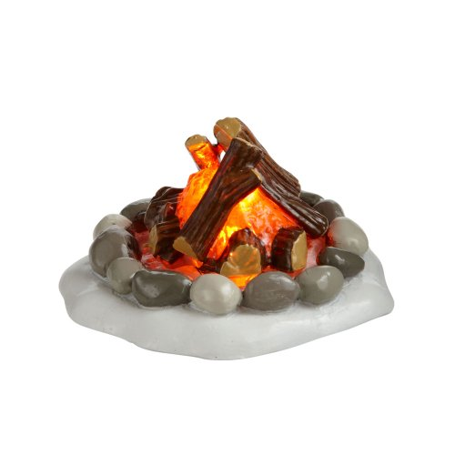 - Department 56 Accessories for Villages Lit Fire Pit Accessory Figurine