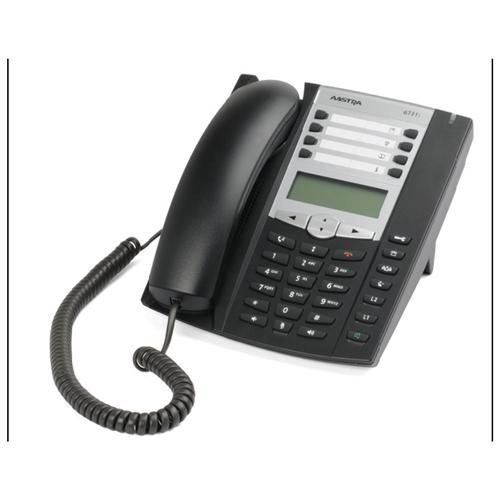 Mitel Networks 6731i IP Phone - Cable - Desktop - 6 x Total Line - VoIP - Caller ID - Speakerphone A6731-0131-1001 (Line Voip Desktop Phone)