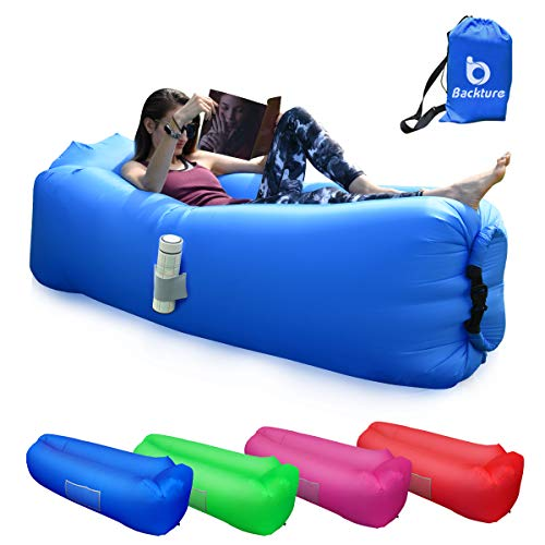 BACKTURE-Inflatable-Lounger-Air-Sofa-Lazy-Portable-Waterproof-Leak-proof-Air-Lounger-Ultra-light-Bed-with-Pillow-Pool-Storage-Bag-Float-for-Camping-Hiking-Swimming-Pool-Beach-Travelling