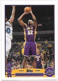 (Samaki Walker 2003-04 Topps Los Angeles Lakers Card #214)