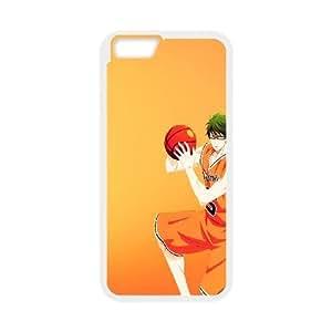 Kuroko no Basket iPhone 6 Plus 5.5 Inch Cell Phone Case White NKK