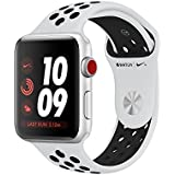Apple Watch Series 3 Nike+ - GPS+Cellular - Silver Aluminum Case with Pure Platinum/Black Nike Sport Band - 42mm