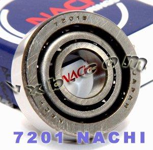 7201 Nachi Angular Contact Bearing 12x32x10 Steel Cage C3 Japan Ball