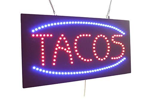 Tacos Sign, Super Bright High Quality LED