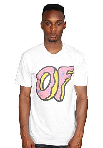 Ulterior Clothing Odd Future Large of Donut T-Shirt OFWGKTA White (Future Tshirts Odd)