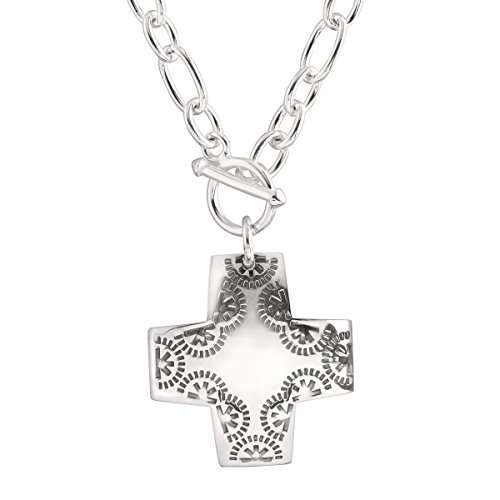 Silpada 'Cross Pendant Necklace' in Sterling Silver ()