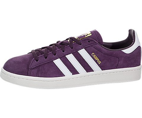info for 608ca 51182 adidas Campus Womens Style BY9843-RedWhtWht Size 6